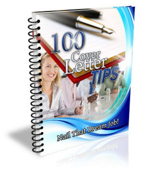 Product picture 100 Cover Letter Tips E book With MRR