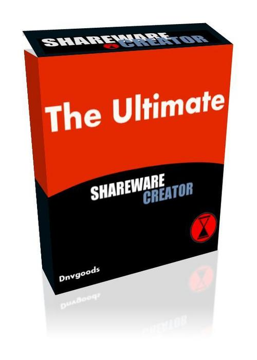Product picture The Ultimate Shareware Creator With Master Resell