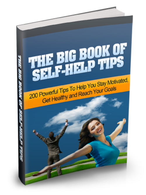 Product picture The Big Book of Self-Help Tips With MRR