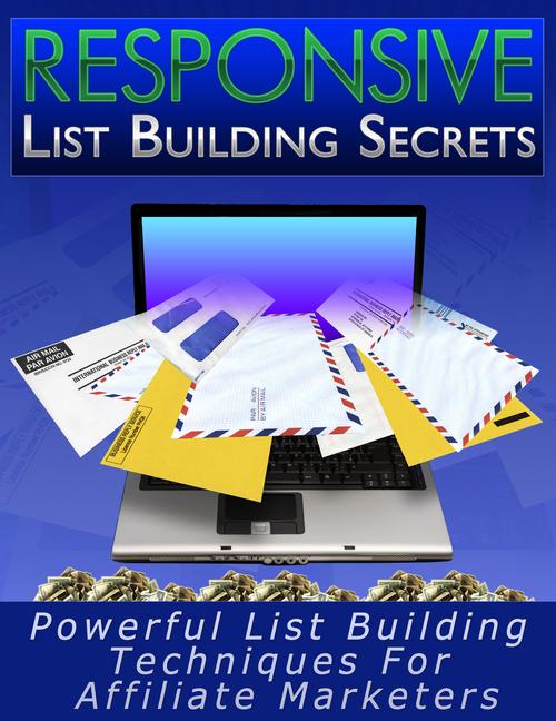 Product picture Responsive List Building Secrets PLR