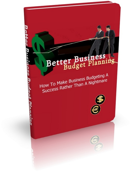 Product picture Better Business Budget Planning