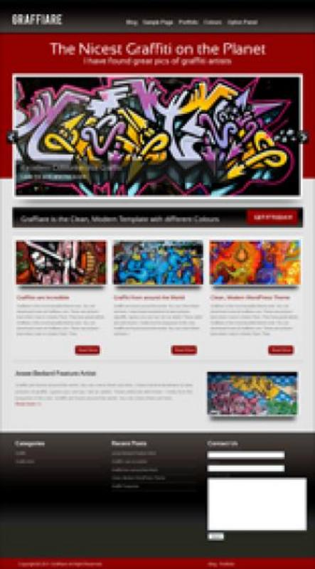 Product picture Graffiare WP Theme