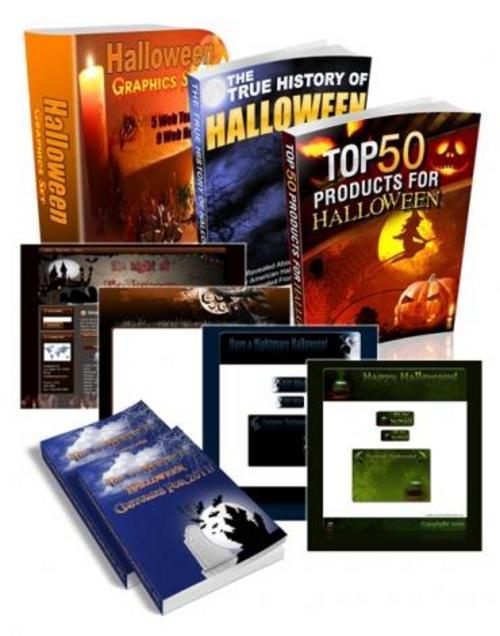 Product picture Halloween Mega MRR Bundle PaCK