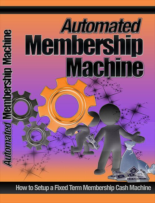 Product picture Automated Membership Machine