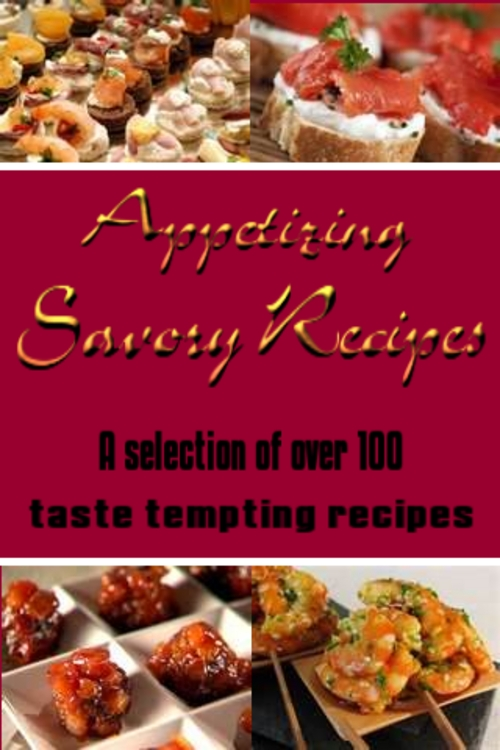 Product picture Appetizing Savory Recipes