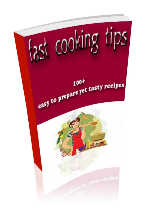 Product picture fast cooking tips