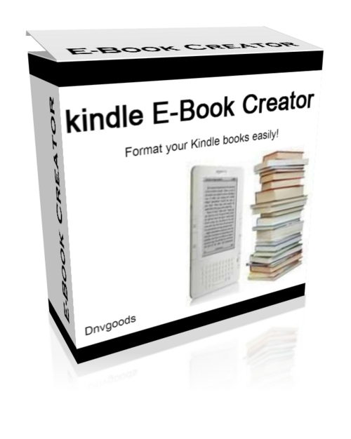 Product picture kindle E-Book Creator