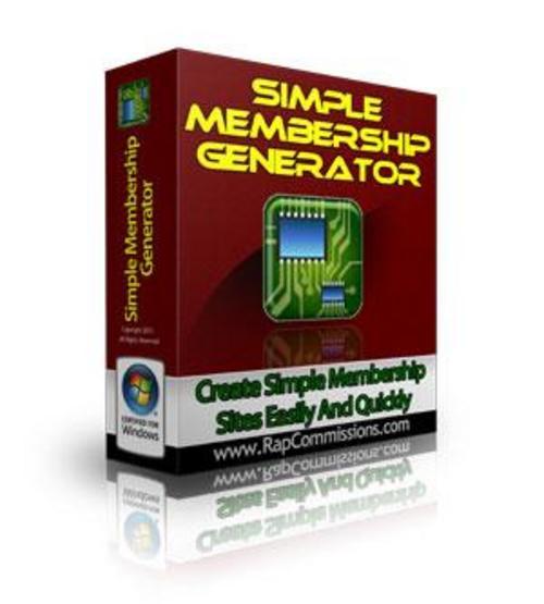 Product picture Membership Site Generator