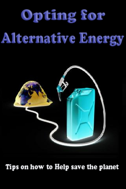 Product picture   Opting for Alternative Energy