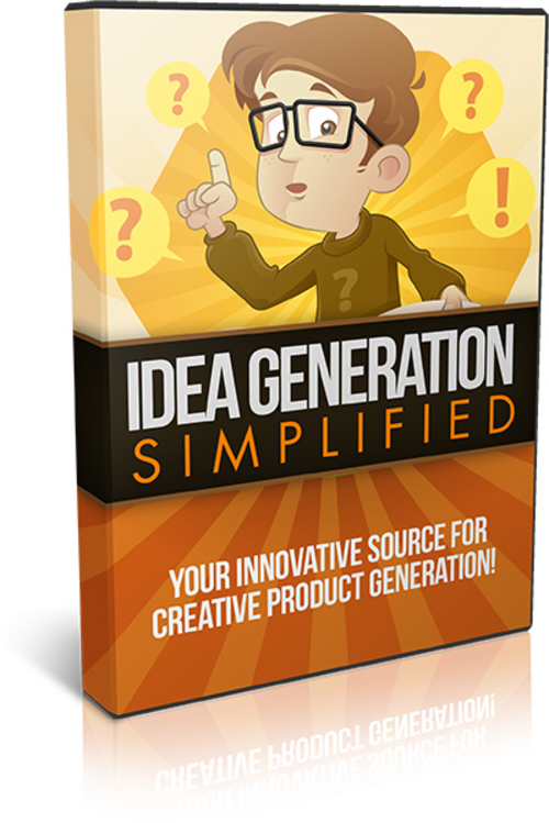 Product picture Idea Generation Simplified