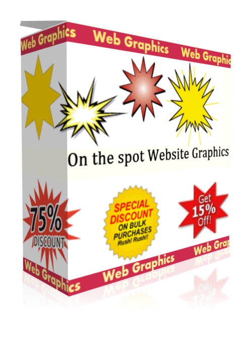 Product picture On the spot Website Graphics