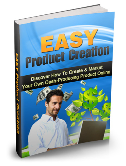 Product picture Easy Product Creation E-Book With MRR