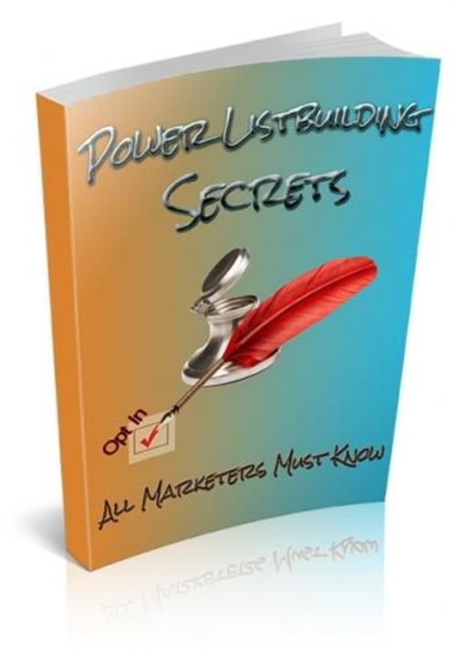 Product picture Power Listbuilding Secrets Book With Resell Rights