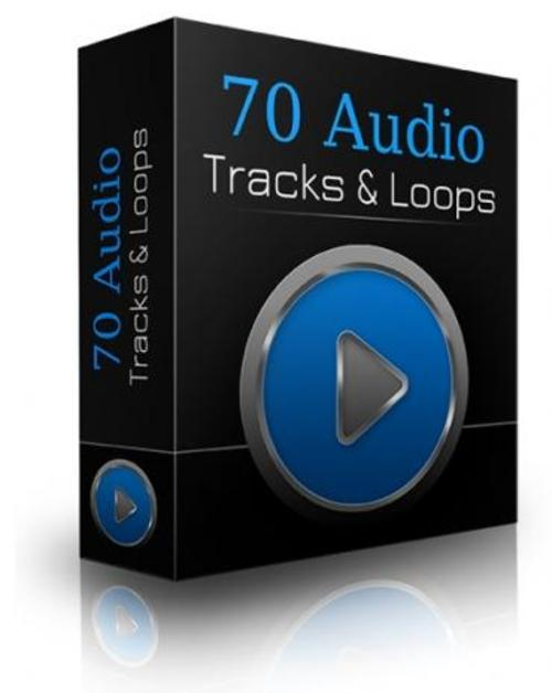 Product picture 70 PLR Audio Tracks With Loops