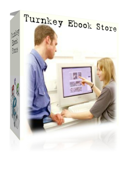 Product picture Turnkey E-Book Store