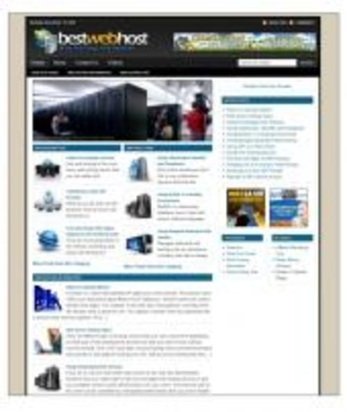 Product picture Web Host Niche Blog