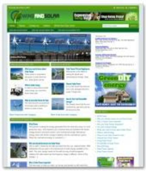 Product picture Wind And Solar Niche Blog