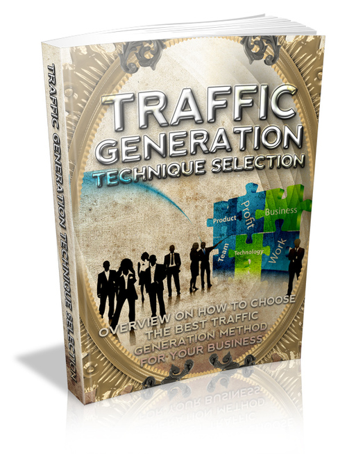 Product picture Traffic Generation Technique Selection