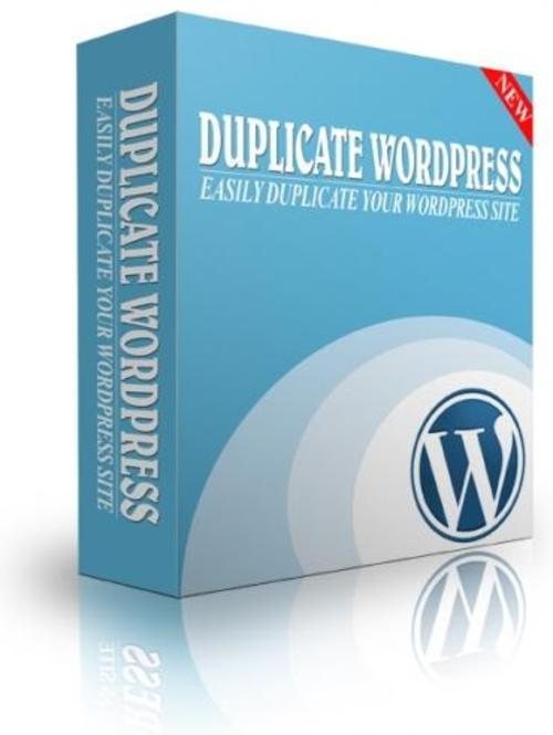 Product picture Duplicate WordPress Site