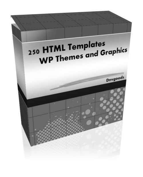 Product picture 250 HTML Templates WP Themes and Graphics