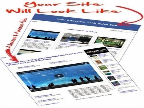 Product picture Aquarium Video Site Maker