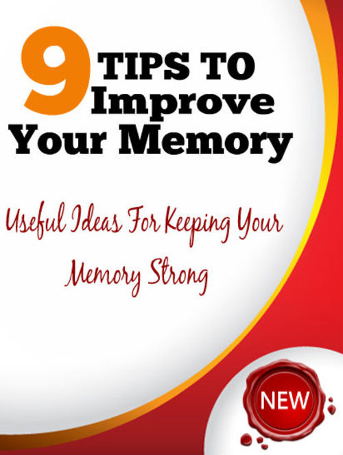 Product picture 9 Tips To Improve Your Memory